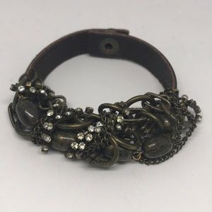 Jewelry - Leather Brass Bracelet